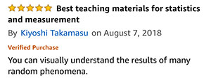 Amazon Review from Kiyoshi
