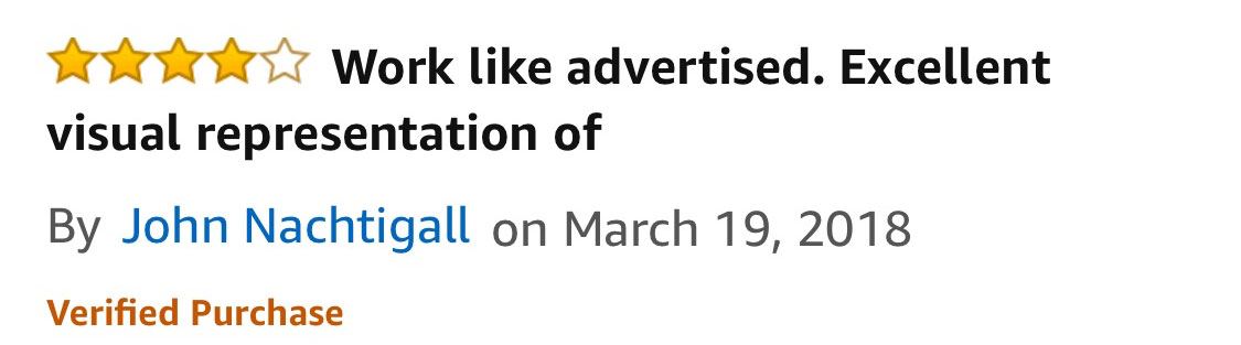 J Nachtigall Amazon Review of Galton Board